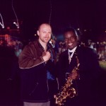 With funk legend Maceo Parker