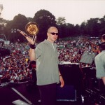 Opening for Sting in Central Park.